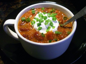 small vegan chili