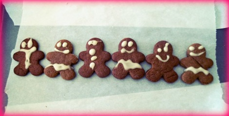 Vegan gingerbread misfits