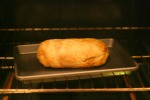 Field Roast: Cranberry hazelnut roast en croute was looking good in the oven!