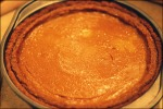 Gluten free pumpkin pie with coconut almond crust
