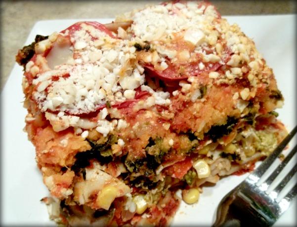 Raise the Roof Sweet Potato Lasagna – My Review | Karmatarian