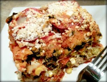 Raise the Roof Sweet Potato Lasagna