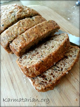 Dad's Zucchini Apple Bread
