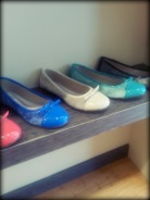 I had intentions of taking photos of all the shoes but I got to mingling... all of the shoes are gorgeous!