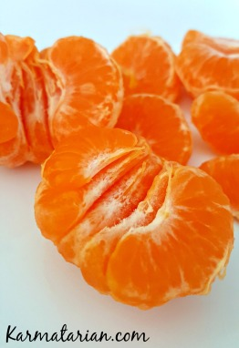 Mandarin orange slices