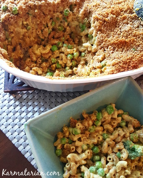 Vegan Macaroni and Cheese Casserole